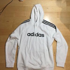 BRAND NEW White Adidas Sweatshirt